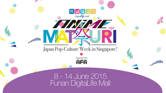 5 Reasons to visit Funan Anime Matsuri 2015