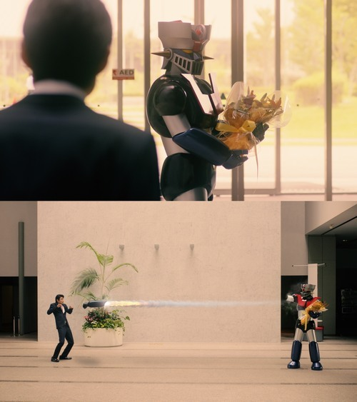 [ANIME] What if Mazinger Z is an insurance manager? Classic mecha rocket punches his way to retirement