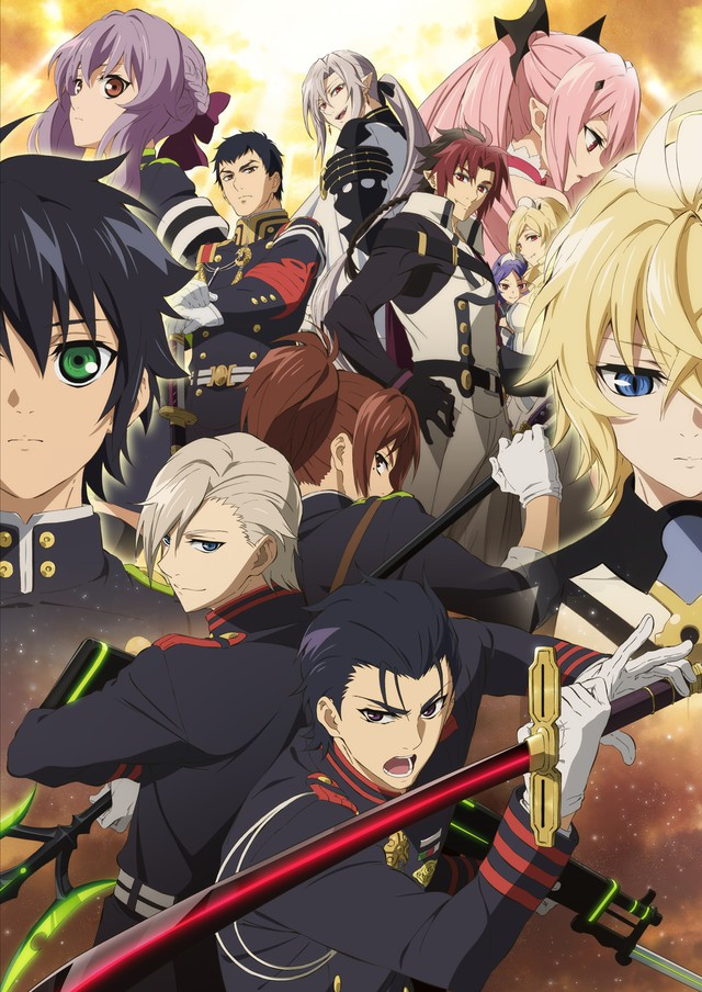 [ANIME] Owari No Seraph 2 key visual, OP/ED Theme revealed