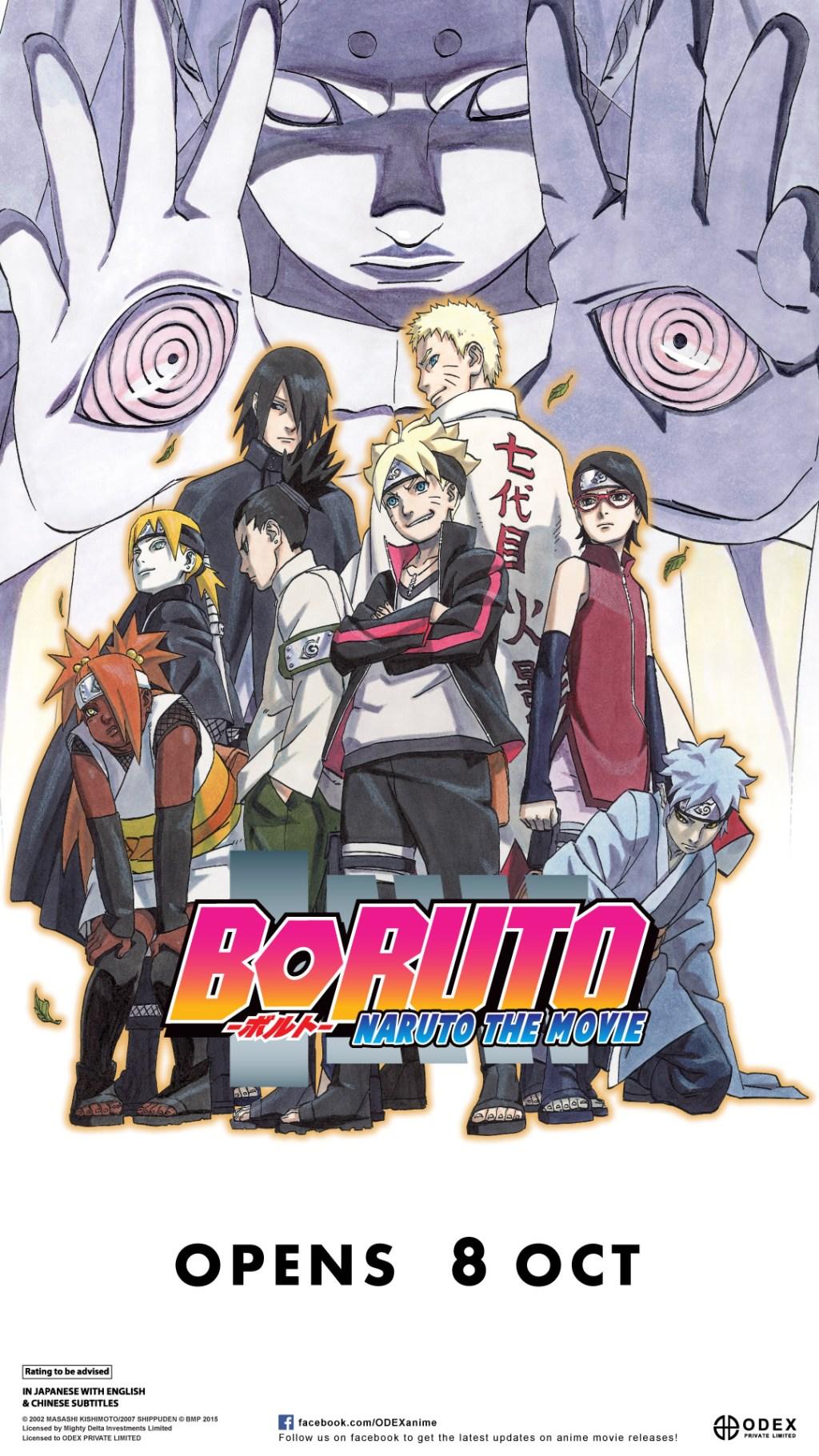 [MOVIE] BORUTO – NARUTO The Movie starts 8 OCT 2015 in Singapore