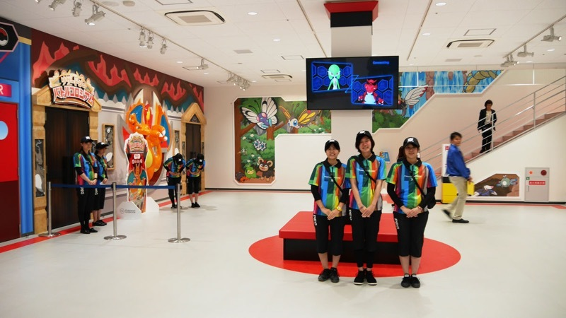 [JAPAN] So this is how the real-life Pokemon Gym in Osaka looks like…