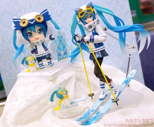 [LOOT] Snow Miku Snow Owl Ver. (2016)'s figma and Nendoroid figures Unveiled