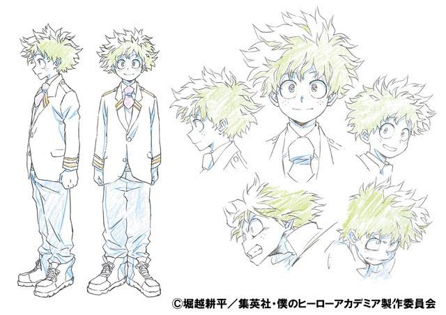 [ANIME] Izuku Midoriya and All Might character designs for My Hero Academia revealed