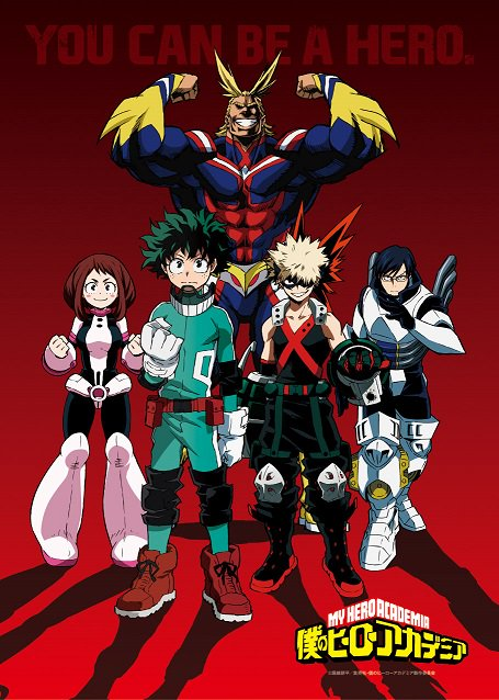 [ANIME] My Hero Academia gets a new PV and key visual