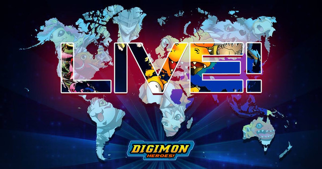 """[GAMES] Digimon gets a free-to-play game app for International Release titled """"Digimon Heroes"""""""