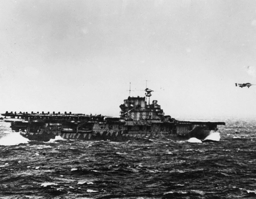 5 – USS Hornet (Yorktown-class Aircraft Carrier)