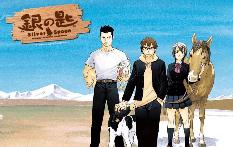 [MANGA] Hiromu Arakawa's Silver Spoon manga to return from its hiatus