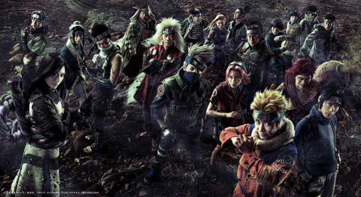 [ENTERTAINMENT] Live Spectacle Naruto's Cast Look Badass in New Batch of Visuals