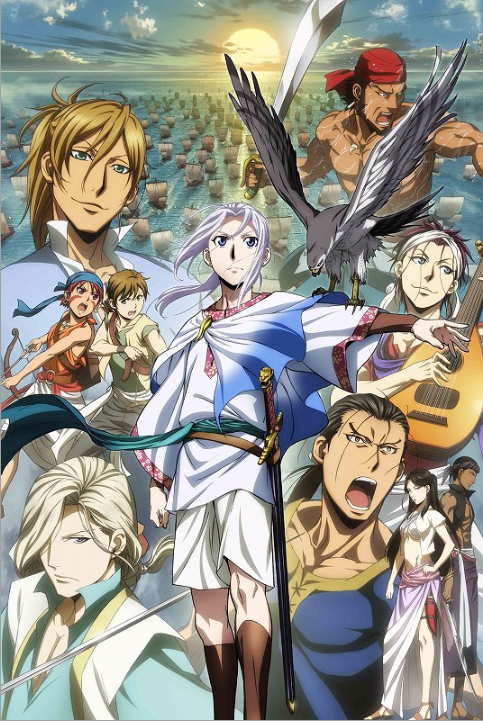 [ANIME] The Heroic Legend of Arslan: Dust Storm Dance gets a new CM and key visual