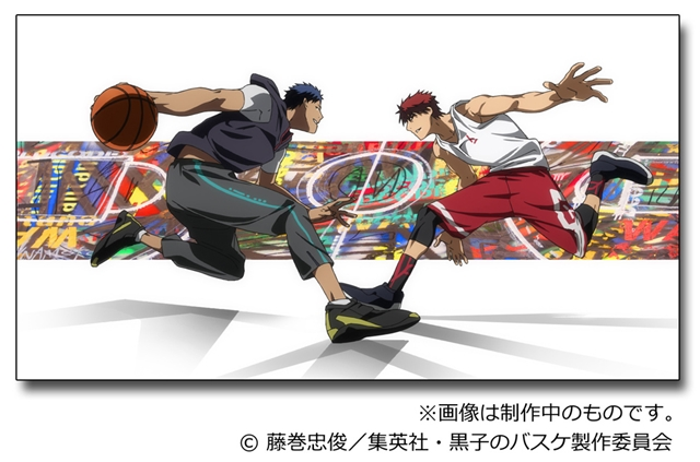 OLDCODEX member, YORKE, paints Kuroko's Basketball characters for compilation movies