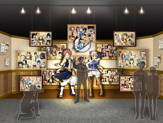 Fairy Tail Celebrates 10th Anniversary with Special Exhibition in Tokyo
