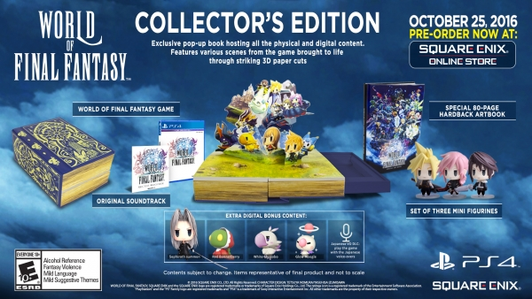 World of Final Fantasy gets new trailer, Collector's Edition revealed