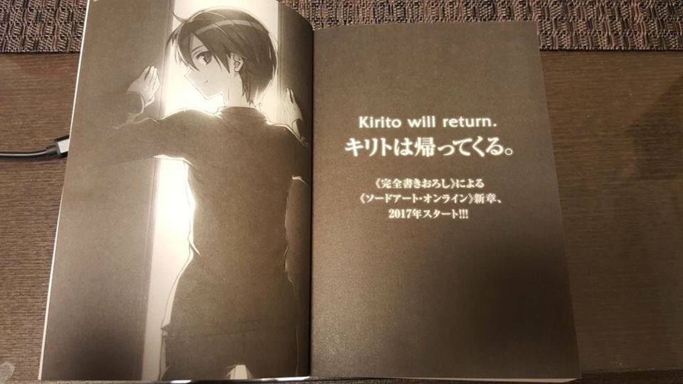 Sword Art Online's Alicization Arc finally ends, light novels to enter new arc in 2017