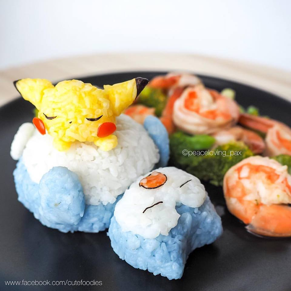 Pokemon turned into works of culinary art by Thai cook