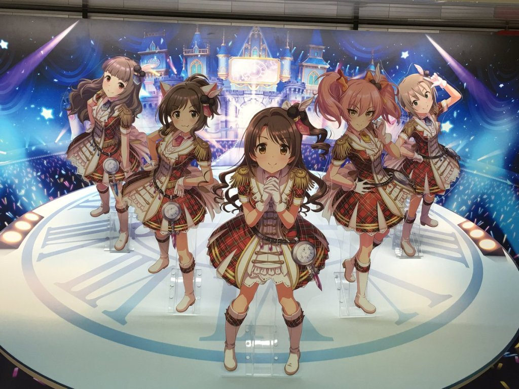 iDOLM@STER: Cinderella Girls takes over Shinjuku Station