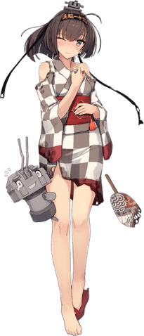 DD_Akizuki_Yukata_Full_Damaged