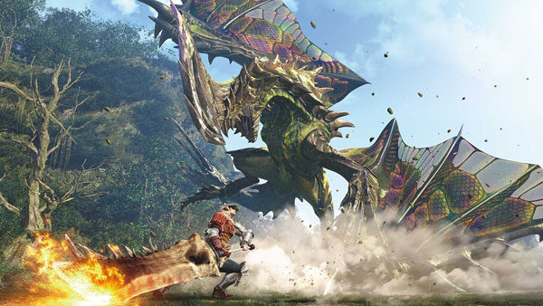 Hollywood is adapting Monster Hunter into a movie