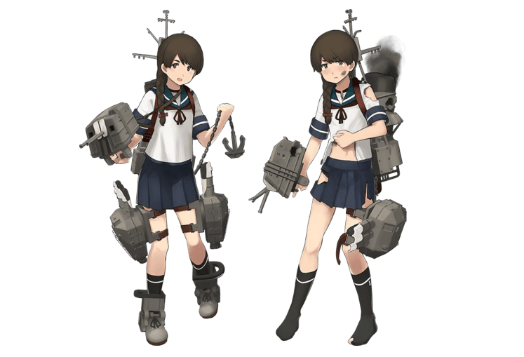 Kantai Collection introduces another new Destroyer, adds more festival costumes