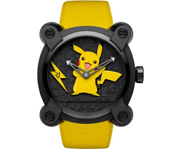 Swiss luxury watch maker is releasing a Pikachu watch worth US$20,000