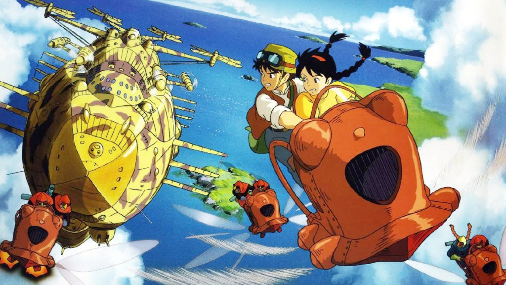 Real-life locations that inspired Ghibli's Laputa: Castle in the Sky revealed