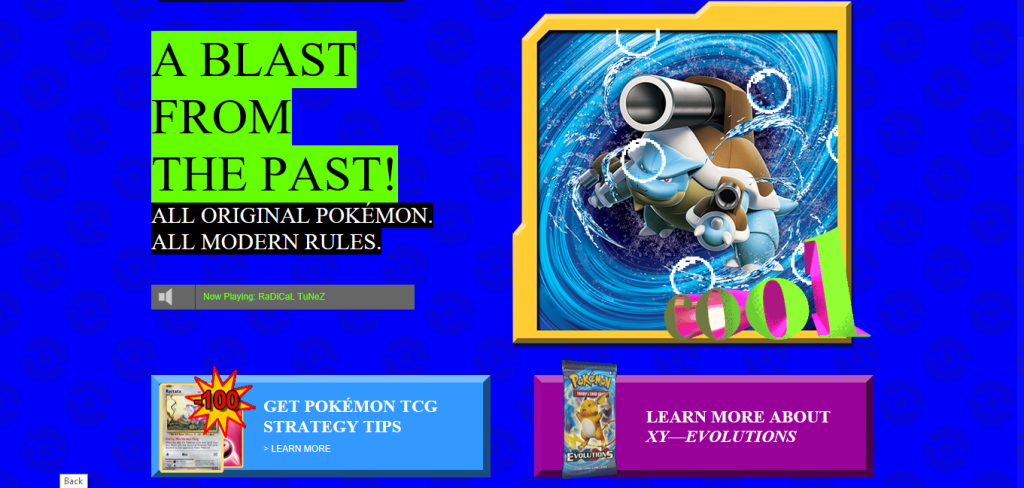 Pokémon goes old school with retro website for their trading card game