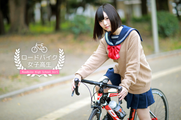 Japanese cosplayer Ayato Nikukyu becomes the new face of a road bike ad campaign