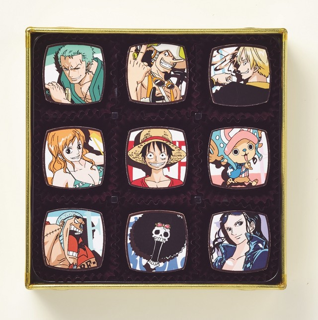 One Piece gets sweet and romantic with official Valentine's Day chocolates