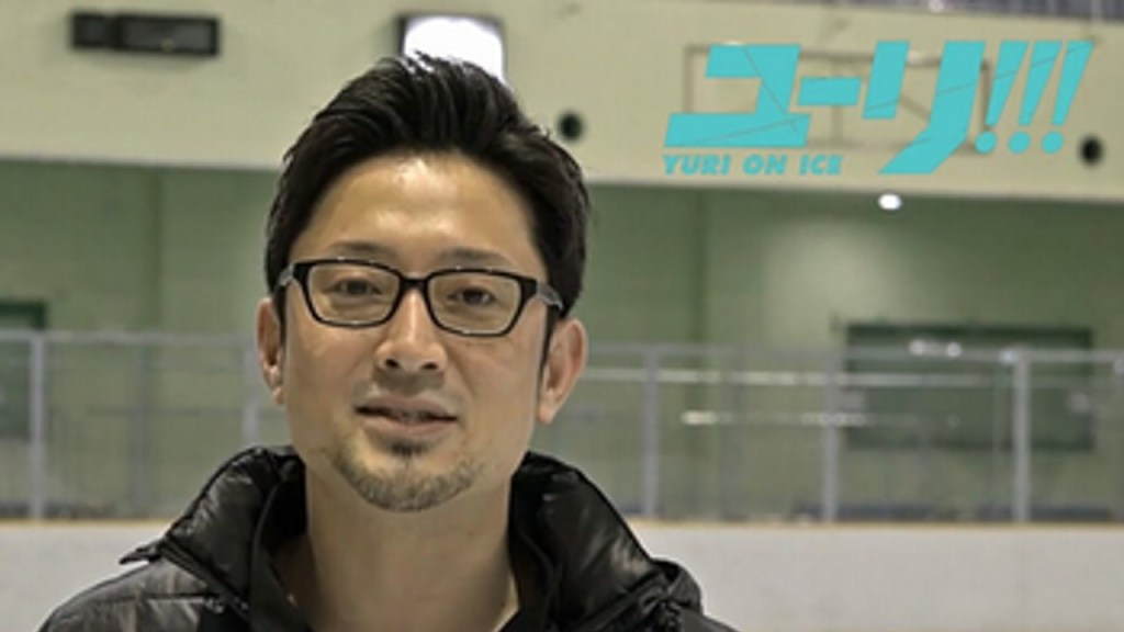 Yuri on Ice event has series choreographer and figure skater teach figure skating with seiyuu