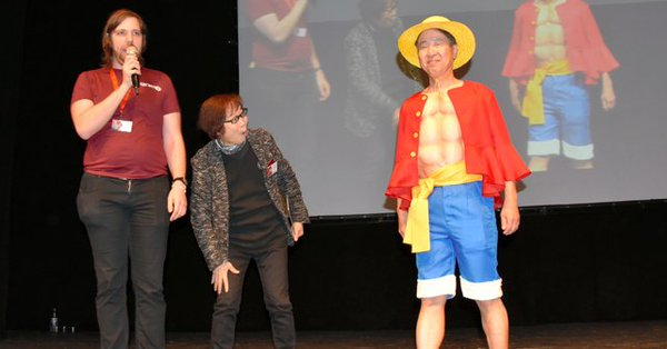 Japanese ambassador cosplays One Piece's Luffy at Jerusalem's cosplay event