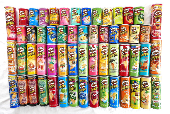 It's not just Kitkats that have unique flavors in Japan, Pringles too!