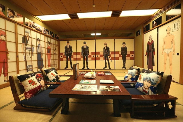 A peek inside Sunshine City Prince Hotel's Gintama room
