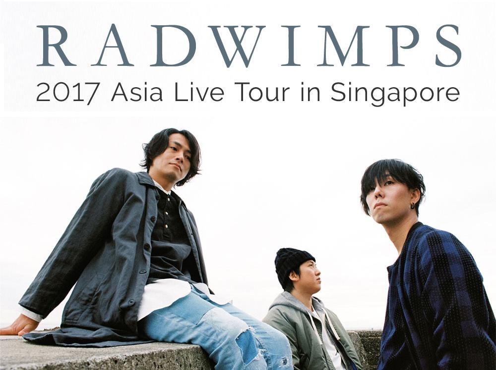 [HYPE!] RADWIMPS announce Singapore Stopover