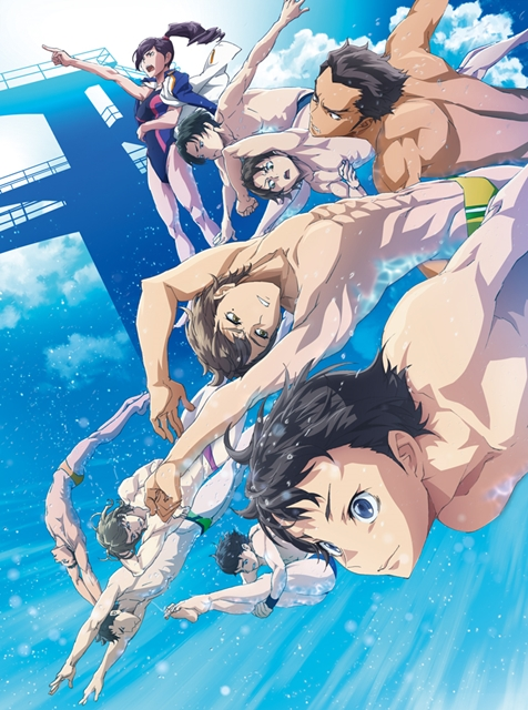 New Anime DIVE!! Splashes Onto Screens 6th July!