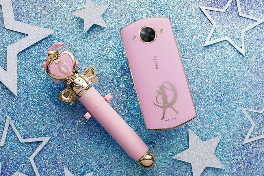 Meitu Releases Sailor Moon Phone And Spiral Heart Moon Rod Selfie Stick
