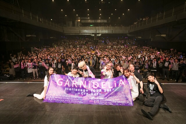 """GARNiDELiA Wraps Up First Solo Japan Tour, Releases New Single """"SPEED STAR"""""""