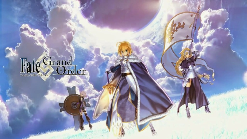 2nd part of Fate/Grand Order mobile game reveals new PV