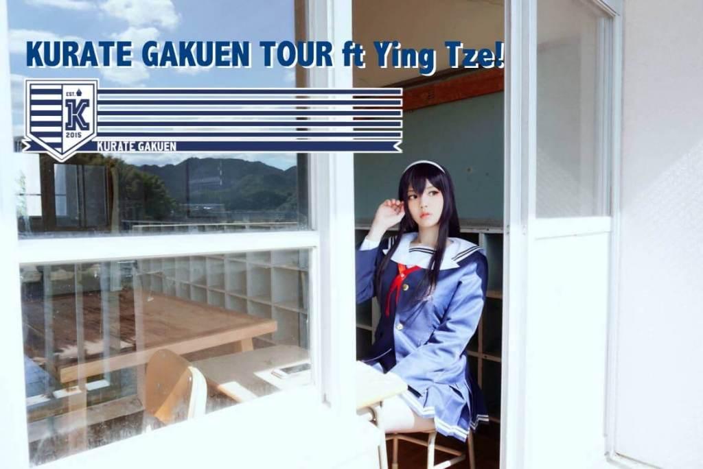 KURATE GAKUEN TOUR ft Ying Tze!