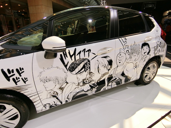 Shonen Jump manga get their own official itasha thanks to Honda
