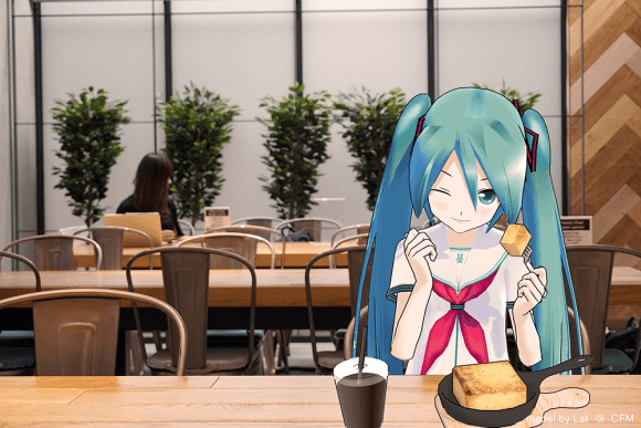 Japanese cafe lets lonely customers get an augmented reality date with Hatsune Miku