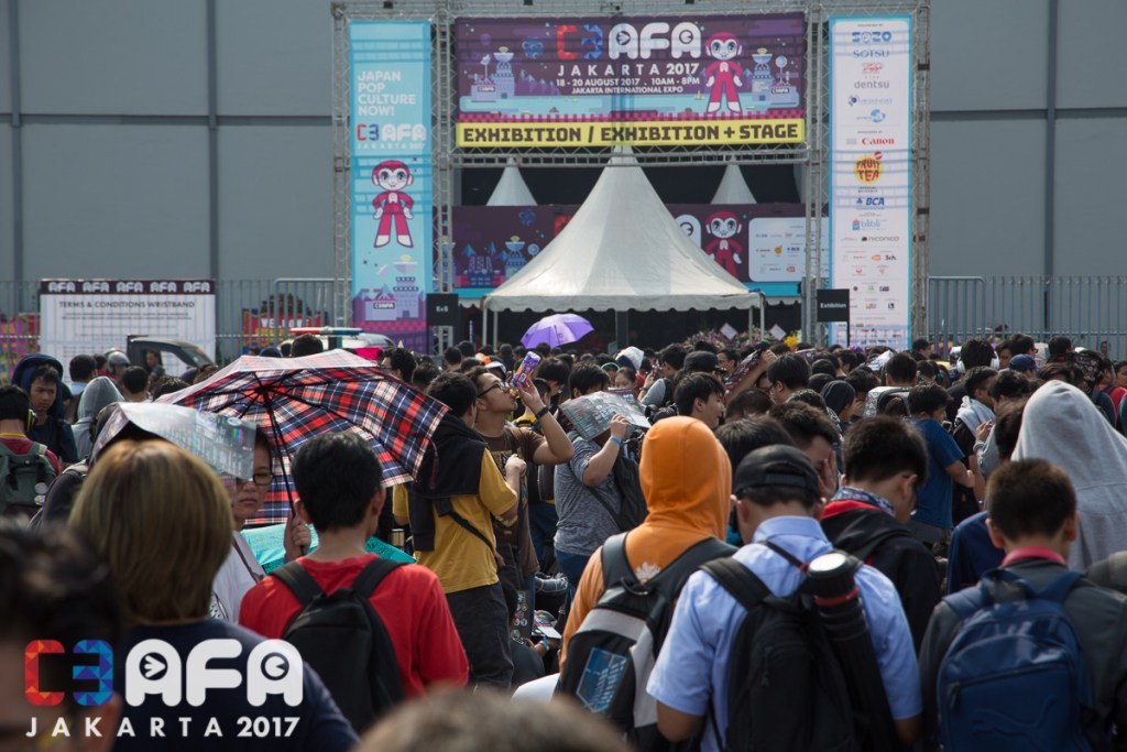 C3 AFA Jakarta 2017 Day Two: The Excitement Reaches Fever Pitch