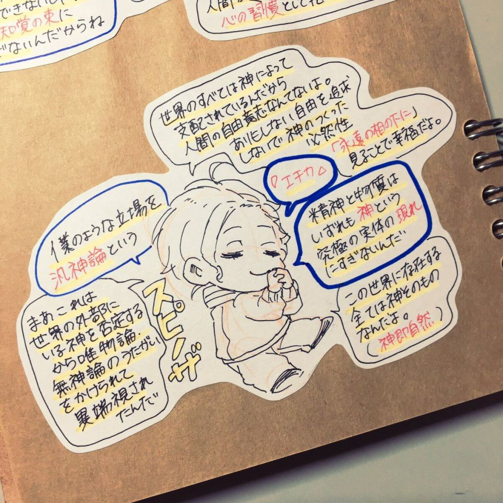Japanese student turns philosophers into super-deformed anime-style characters