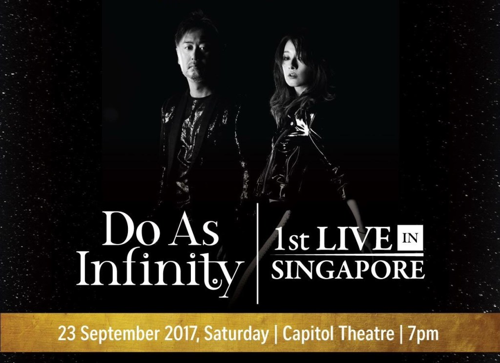 Do As Infinity 1st Live in Singapore