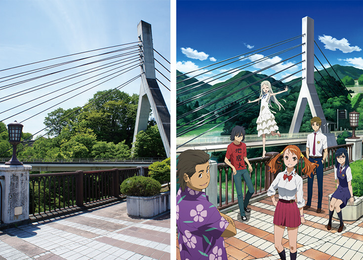 Anime fans gather to clean up AnoHana's iconic bridge setting