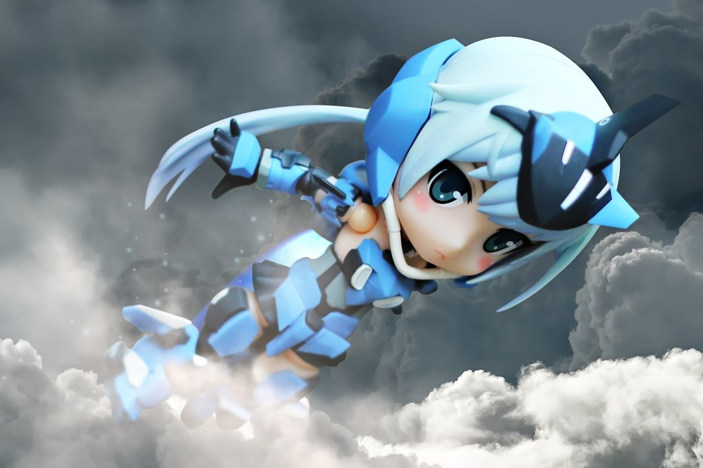 Soaring High: Cupoche Frame Arms Girl Stylet