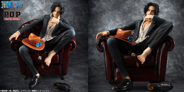 "This New Portrait.Of.Pirates ONE PIECE ""S.O.C"" Portgas D. Ace Figure is Stunning!"