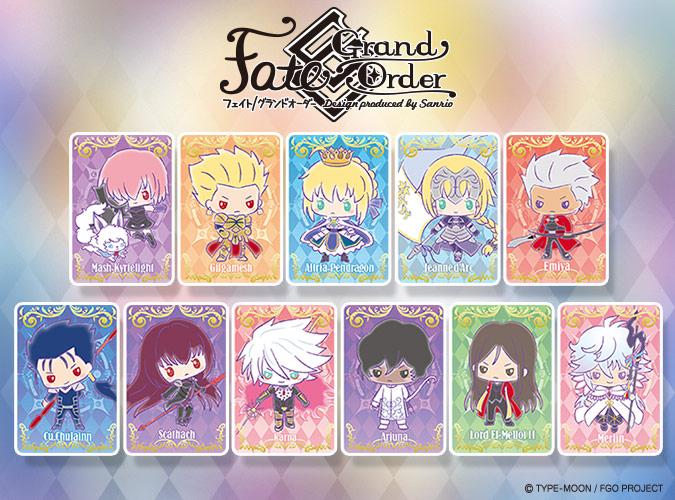Sanrio reveals new Fate/Grand Order collaboration merchandise