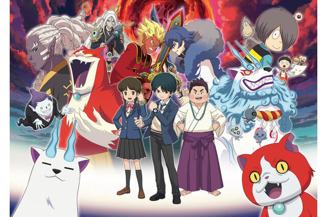 Yo-Kai Watch Shadowside film highlights Gegege no Kitarou characters in new trailers