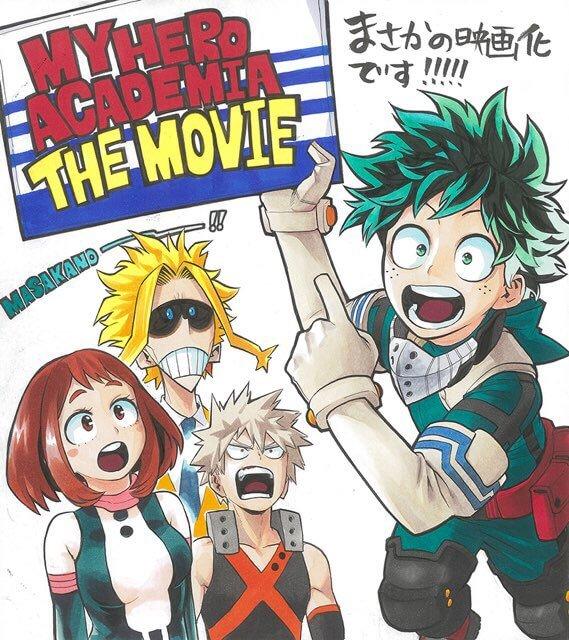 My Hero Academia the Movie announced