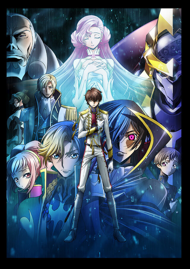 2nd Code Geass anime film reveals key visuals, theme songs