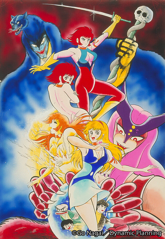 New Cutie Honey anime project announced for 2018